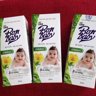 Sữa tắm gội cho bé Bon baby