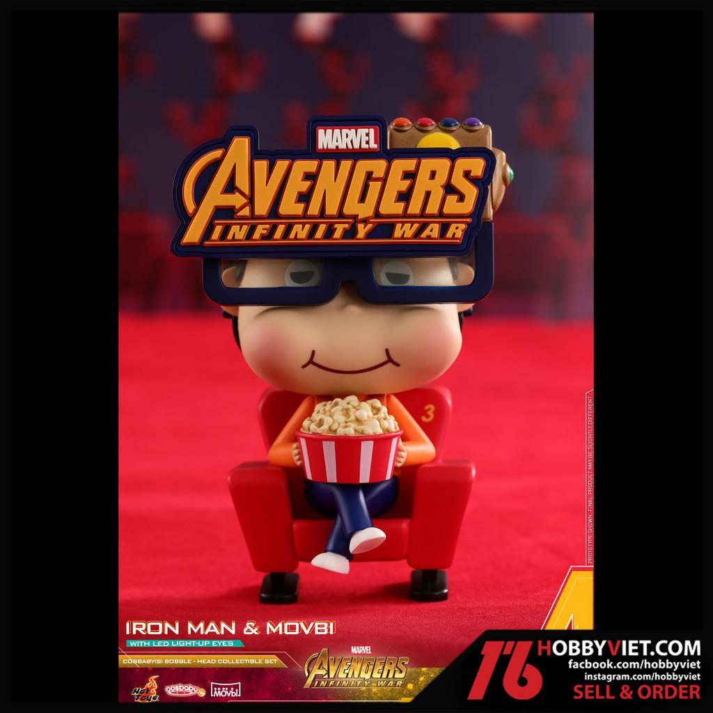 Đồ chơi mô hình sưu tập đầu lúc lắc Hot Toys Cosbaby Bobble Movbi Avengers Infinity War (xé lẽ Movbi Boy)