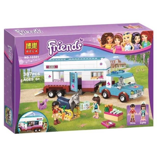 Lego friends 10561- xe chăm sóc thú cưng