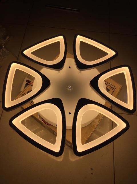 Đèn  Ốp Trần Hiện Đại V8-3 Chế Độ Kèm Điều Khiển