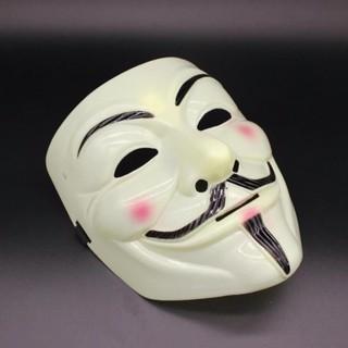 Mặt nạ Hacker mặt nạ Anonymous Màu Vàng [ LẺ=SỈ ]