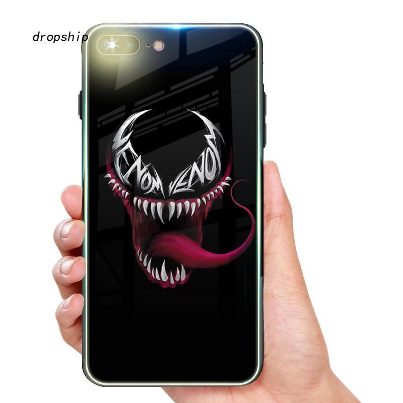Ốp điện thoại in hình venom cho Iphone 6 6S 6/6S+ 7 8 7/8+ X XS XSMAX XR