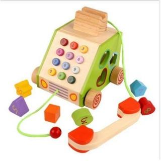 Điện thoại gỗ