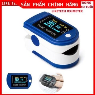 [ Chính Hãng] Máy đo nồng độ Oxy trong máu (SPO2) và nhịp tim Finger Pulse Oximeter - Máy Đo Spo2 thumbnail