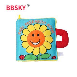 Sách vải ú òa Baby Peekaboo Book ( BBSKY)