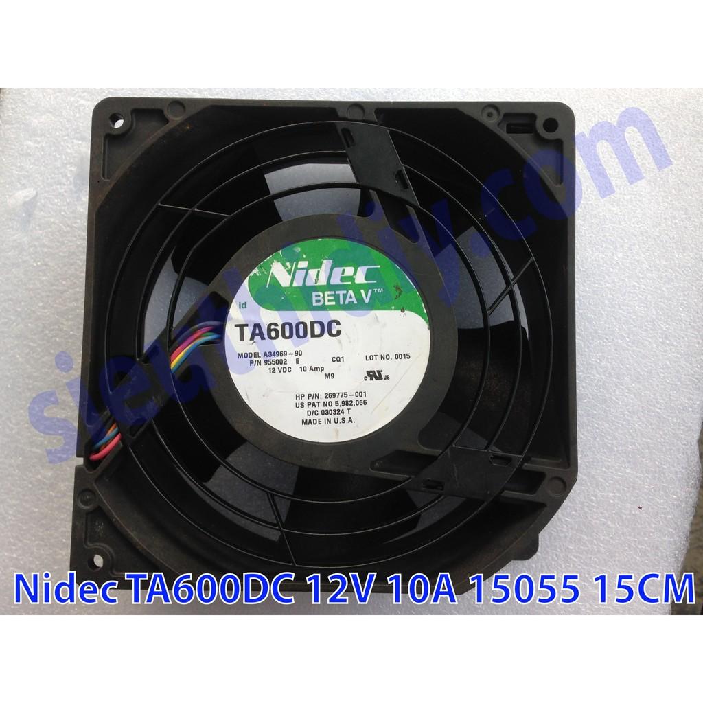 Quạt fan 15 Nidec TA600DC 12V 10A 15055 15CM - 3013921 , 323952313 , 322_323952313 , 300000 , Quat-fan-15-Nidec-TA600DC-12V-10A-15055-15CM-322_323952313 , shopee.vn , Quạt fan 15 Nidec TA600DC 12V 10A 15055 15CM