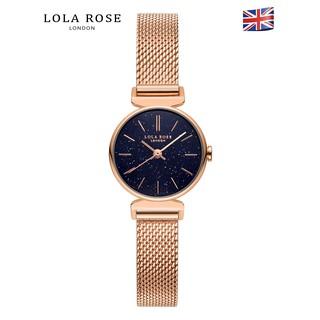 Đồng hồ dây kim loại nữ mặt tròn Lolarose chống nước cao cấp , dây thép milanese Ý không siêu bền bảo hành 2 năm LR4048 thumbnail