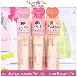 Son dưỡng Canmake Melty Luminous Rouge - 3.8g thumbnail