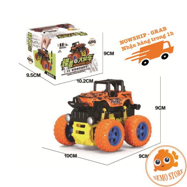 MJ5 OTP [Mã TOYNOV hoàn 20K xu đơn 50K] Xe Ô tô đồ chơi địa hình Buggy dùng quán tính bánh to cỡ to 28 MJ5
