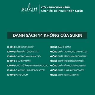 Kem Làm Sạch Tế Bào Chết Sáng Da Sukin Super Greens Detoxifying Facial Scrub 125ml-3