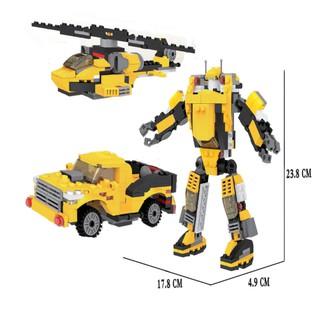 Lego máy bay chiến đấu xếp hình 3 trong 1