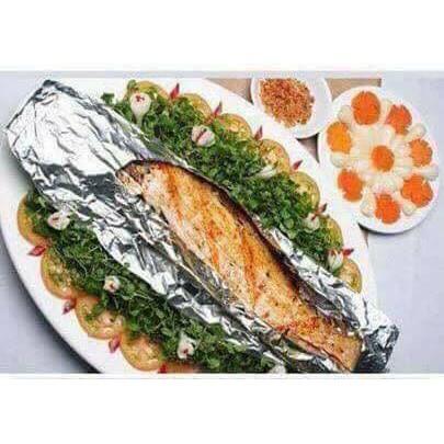 Cuộn giấy bạc, dùng để bọc, nướng thực phẩm