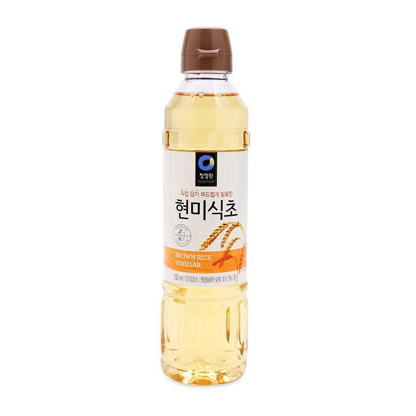 Giấm Gạo Lức Daesang Nhập Khẩu Hàn Quốc 500ml