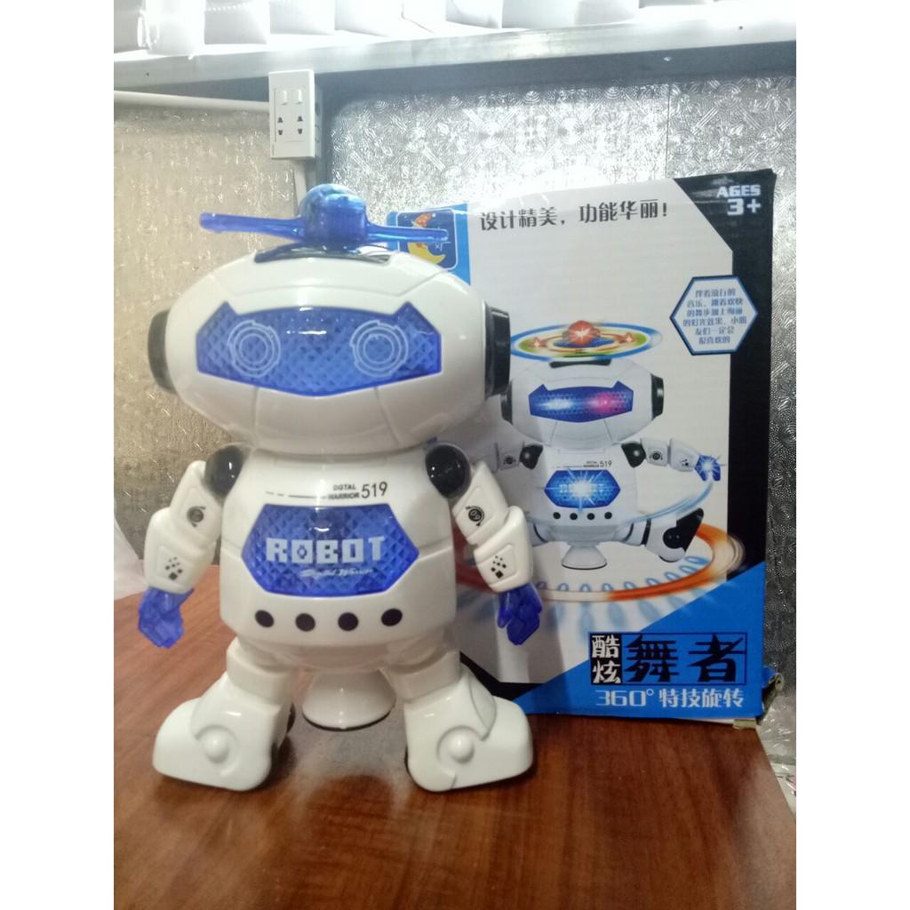 Mua Đồ chơi Robot Thông Minh Biết Nhảy Và Hát Xoay 360 Độ chỉ 66.000₫