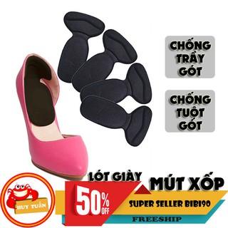 Cặp lót giày chống trầy gót tuột gót bằng mút êm ái (CTG02) bibi90 thumbnail