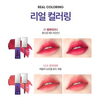 Son môi VT X BTS The Sweet Mousse Lip Fluid Màu 01 - Đỏ Nhung 4.5g-8