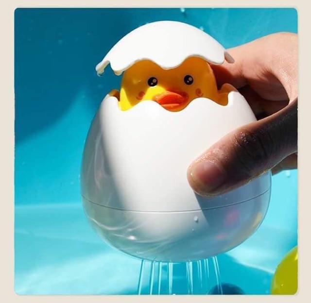 Trứng vịt tắm cho bé