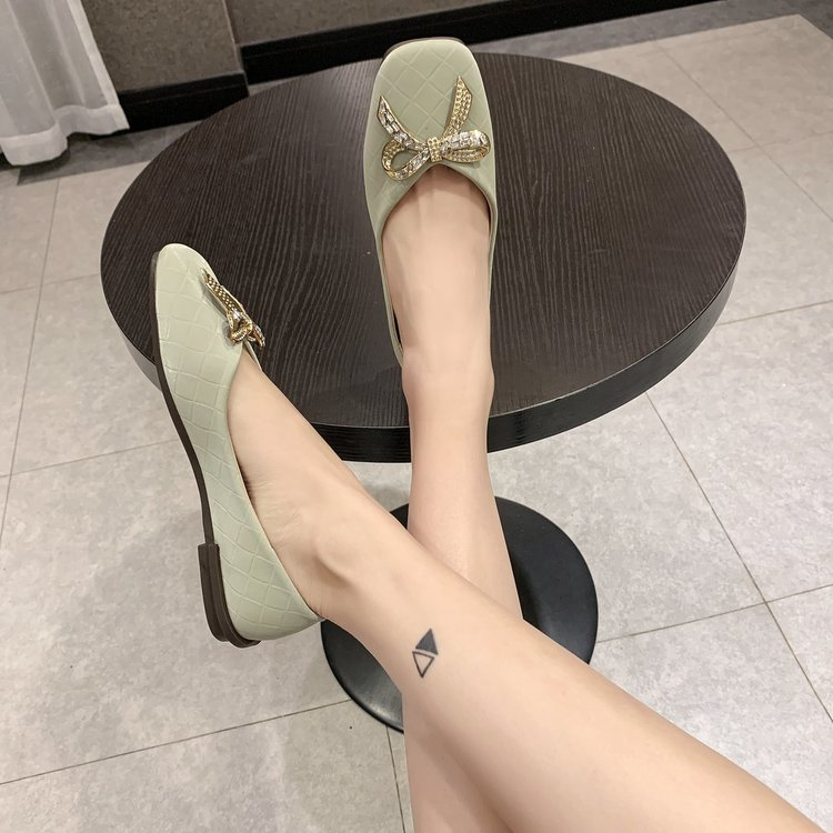 Giày Lười Đế Bằng Thời Trang Công Sở Dành Cho Nữ