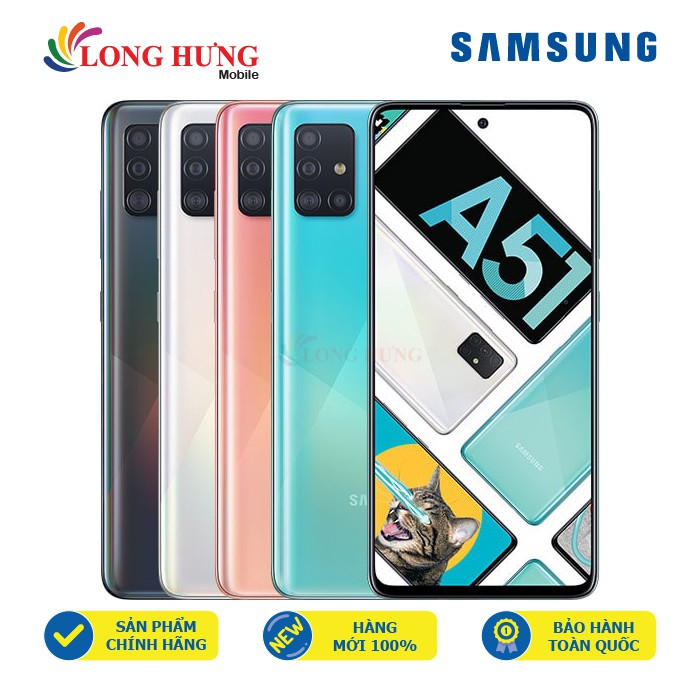 [Mã ELMAR27 giảm 7% đơn 300k] Điện thoại Samsung Galaxy A51 - Hàng chính hãng