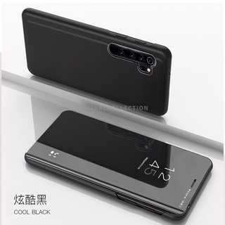 Ốp Lưng Nắp Gập Tráng Gương Cao Cấp Cho Oppo F9 Pro A7X Realme2 Pro