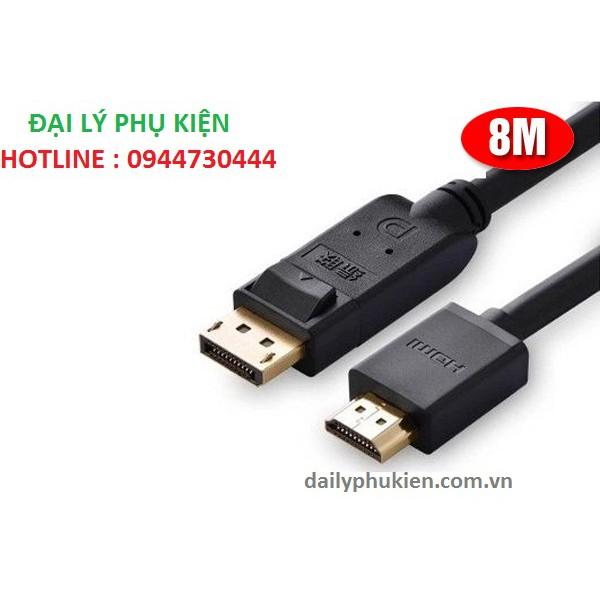 Cáp chuyển đổi Displayport to HDMI dài 8m Ugreen 10205 - 2946534 , 672757398 , 322_672757398 , 545000 , Cap-chuyen-doi-Displayport-to-HDMI-dai-8m-Ugreen-10205-322_672757398 , shopee.vn , Cáp chuyển đổi Displayport to HDMI dài 8m Ugreen 10205