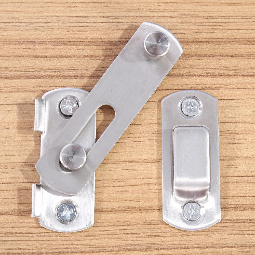 Chốt khóa cài cửa an toàn chất liệu thép không gỉ cao cấp tiện dụng