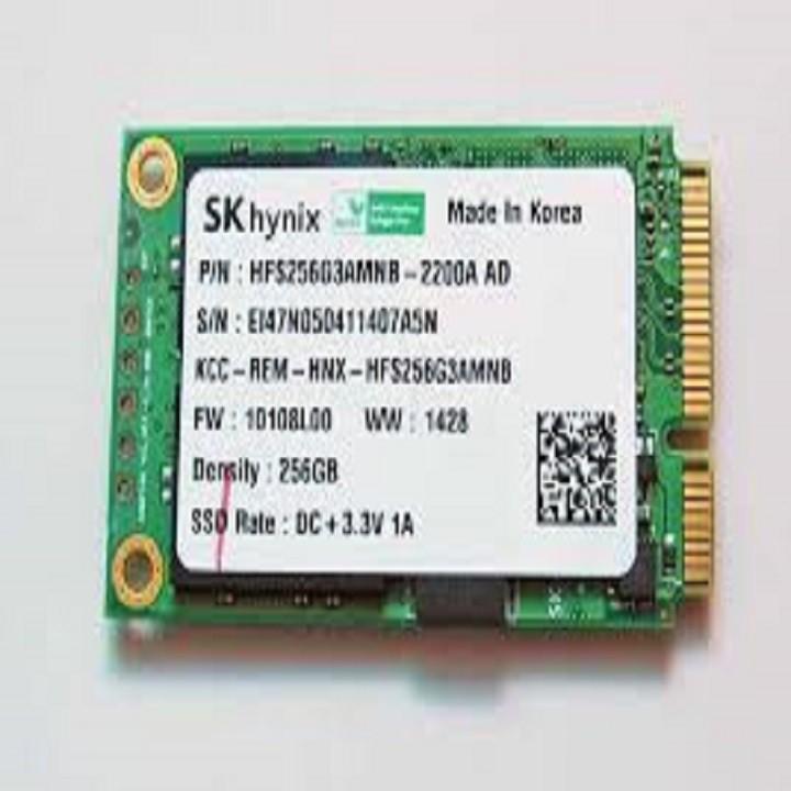 SSD Msata 256gb chuẩn M1 chính hãng chuẩn hàng xuất mỹ tháo máy Giá chỉ 8.450.000₫