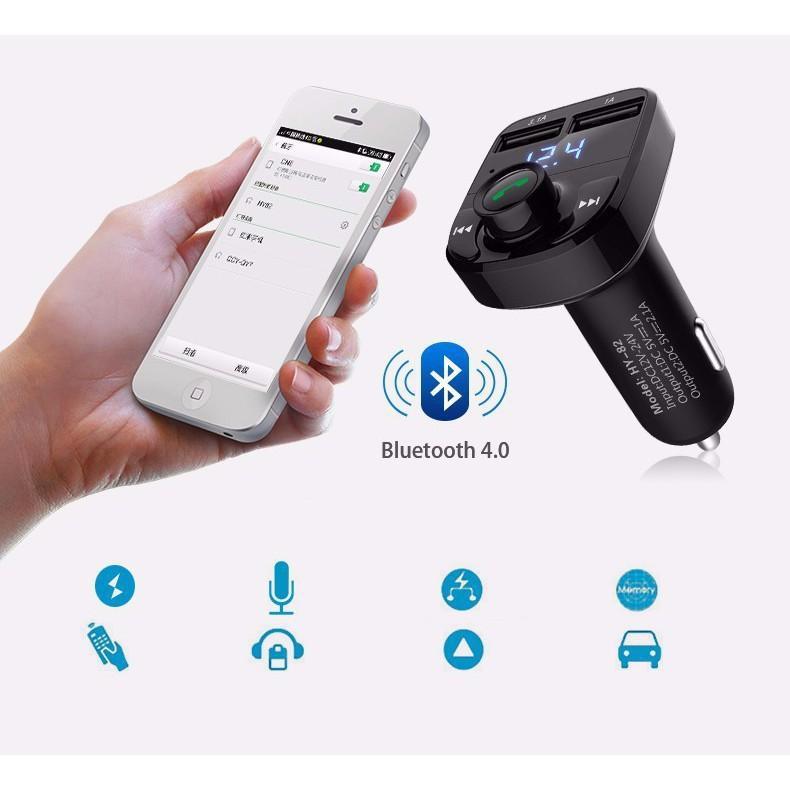 Tẩu MP3 Kết Nối Bluetooth Hầu Hết Các Thiết Bị Ngoài Smartphone, Ipod, Máy Tính Bảng, FM Cho Xe Hơi