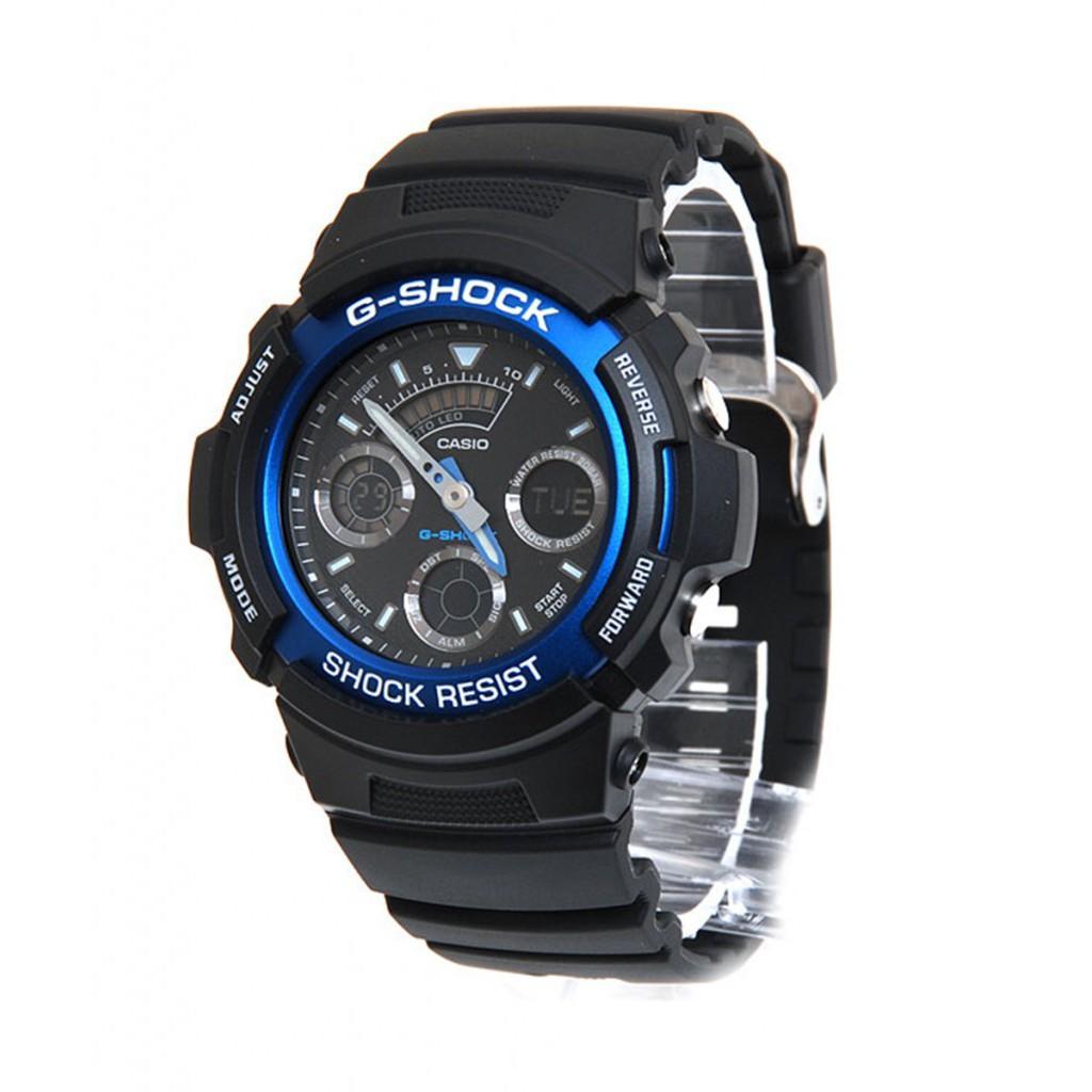 Đồng hồ nam Casio CHÍNH HÃNG AW-591-2ADR