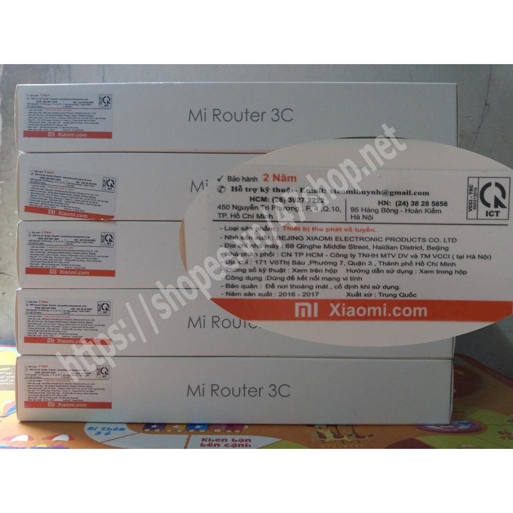 Bộ Phát Wifi Xiaomi Router 3C - BH 24 tháng - Nhà phân phối VCCI - 2814366 , 350734915 , 322_350734915 , 400000 , Bo-Phat-Wifi-Xiaomi-Router-3C-BH-24-thang-Nha-phan-phoi-VCCI-322_350734915 , shopee.vn , Bộ Phát Wifi Xiaomi Router 3C - BH 24 tháng - Nhà phân phối VCCI