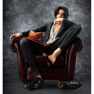Mô hình figure vua hải tặc – ACE ngồi ghế (16cm)