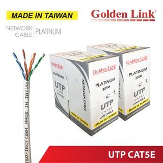(Đài Loan) Cáp mạng GoldenLink Taiwan CAT5E 1Gbps Gigabit WAN LAN BootRom CCTV Camera PoE thumbnail