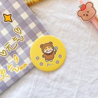 FREE SHIP Gương trang điểm cầm tay mini bỏ túi cô gái Nhật Bản 2