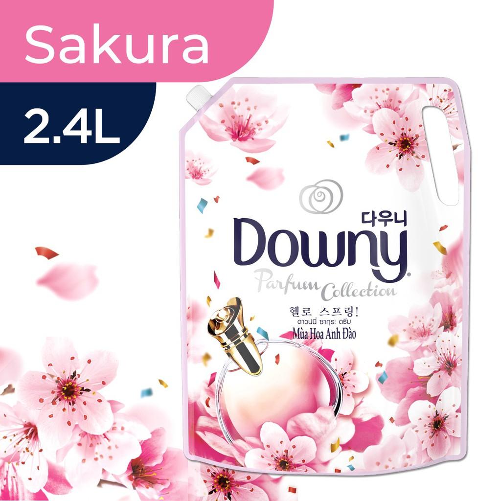 [HN] Downy Xả vải Túi 2.4L Hương hoa Anh Đào ( mới )