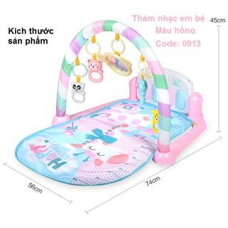 Thảm Đàn Piano Cho Bé Hồng-BGM-A0913