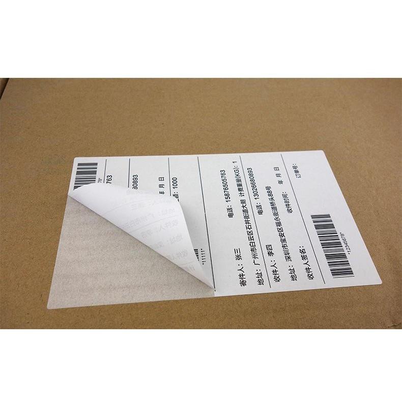Giấy in nhiệt Shoptida 8000 tờ A6 10*15cm 3 lớp tự dán chống nước, sử dụng cho máy in nhiệt Shoptida SP46
