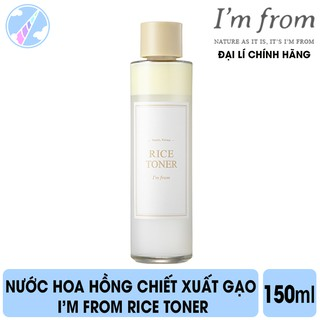 Nước Hoa Hồng Chiết Xuất Gạo I m From Rice Toner 150ml thumbnail