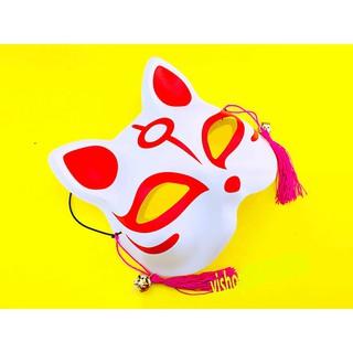 Mặt nạ cáo / mèo đã vẽ cosplay , halloween mã YDT49 Usoc