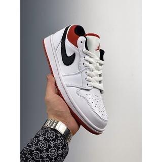 Giày Bóng Rổ Jordan 1 Thấp Aj1 553558 118 36-46 Tiện Dụng Cho Nam Và Nữ