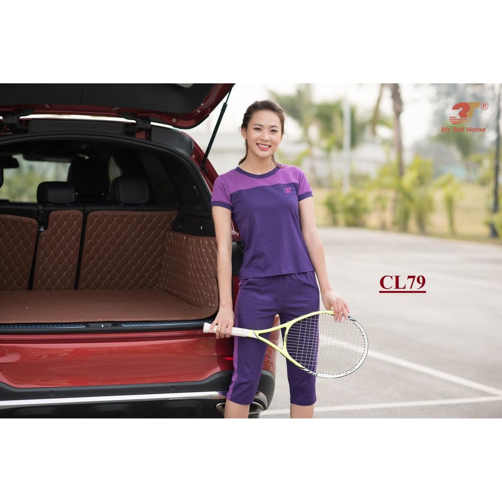 Đồ bộ mặc nhà 3T My Self Home - Bộ thể thao cotton áo cộc quần lửng CL79 - 2883260 , 970640741 , 322_970640741 , 355000 , Do-bo-mac-nha-3T-My-Self-Home-Bo-the-thao-cotton-ao-coc-quan-lung-CL79-322_970640741 , shopee.vn , Đồ bộ mặc nhà 3T My Self Home - Bộ thể thao cotton áo cộc quần lửng CL79