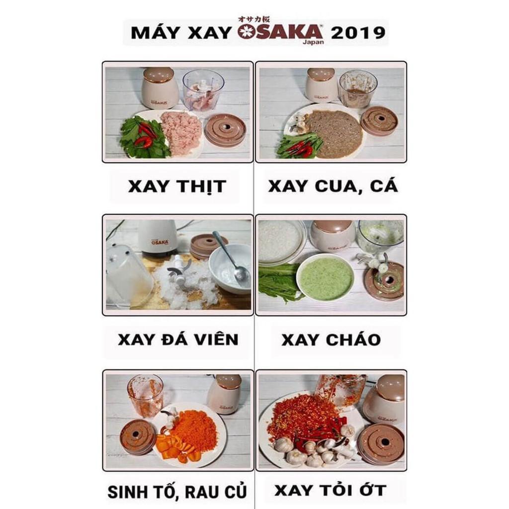 Máy Xay Đa Năng Osaka Japan Xay Thịt Xay Đá Xay