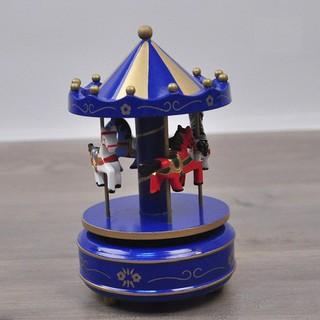 Hộp nhạc Carousel bằng gỗ *Loại Tốt*