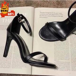 Giày cao gót 9 phân Ngọc trinh quai mãnh nữ tính myseo [hàng có sẵn] HÀNG CÓ SẴN