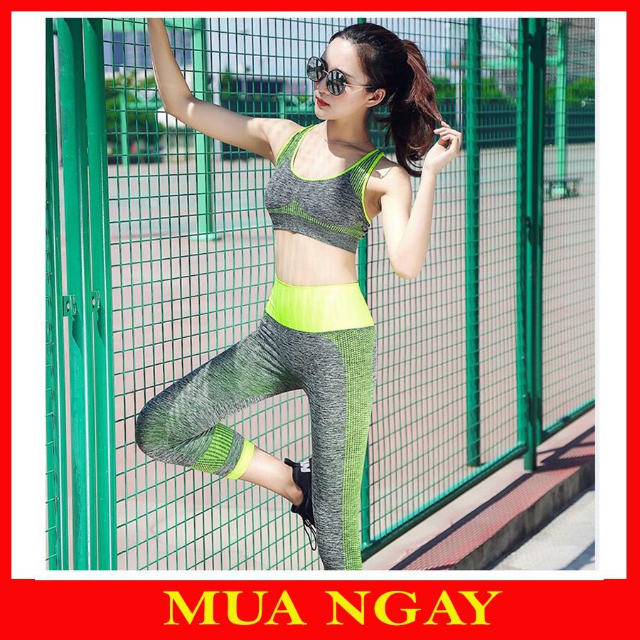 Set Tập Gym Nữ , Yoga, Thể Thao YT11 Siêu Hot