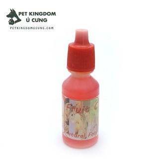 Vitamin c - canxi - tiêu chảy - vitamin tổng hơp cho hamster - guinea pig - thỏ thumbnail