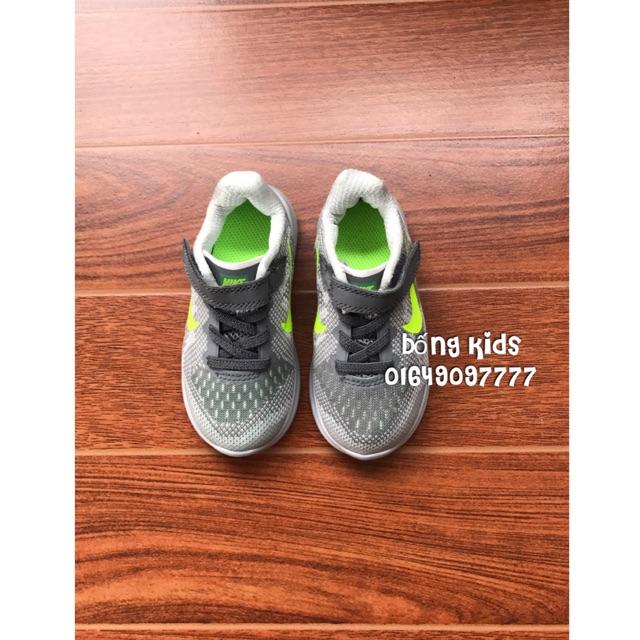Giày Thể Thao Bé Trai Grey/Green Nike