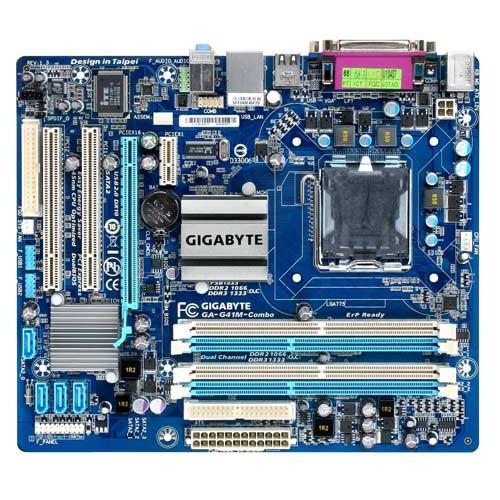 LGA775 - G41 | Motherboard Gigabyte GA-G41M-Combo
