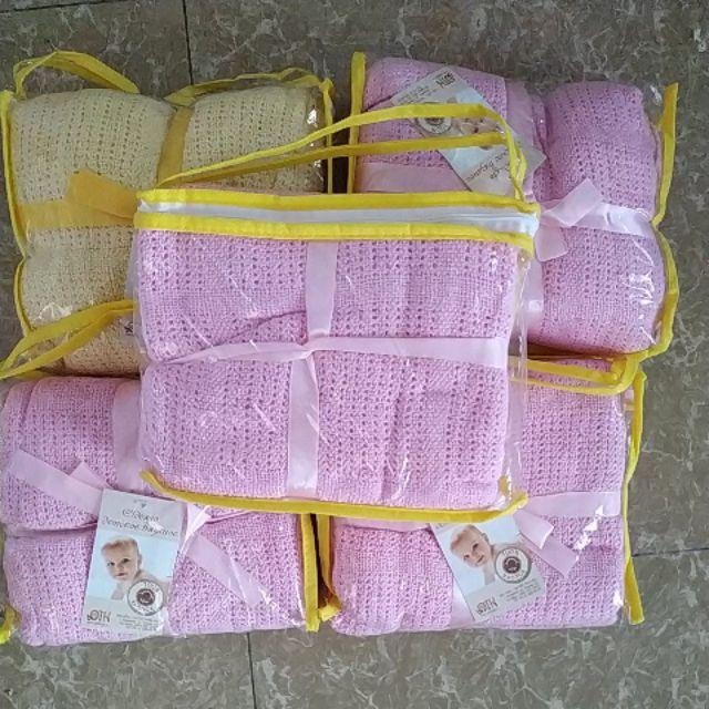 Combo 6 chăn lưới mùa hè cho bé