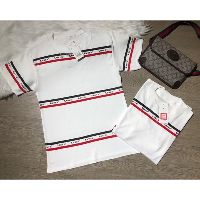 Áo phông trắng cotton đẹp - Áo ngắn tay không cổ
