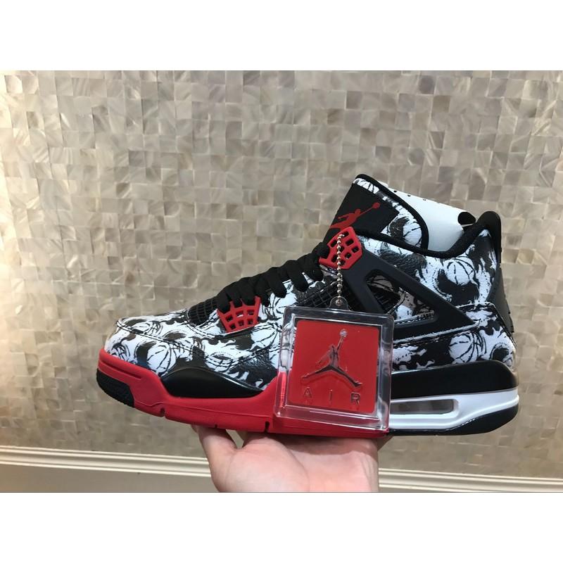 [FREE SHIP + FULL BOX] Giày Nike Air Jordan 4 Graffiti Black/White Màu Đen Trắng - 13835368 , 2187366322 , 322_2187366322 , 2106106 , FREE-SHIP-FULL-BOX-Giay-Nike-Air-Jordan-4-Graffiti-Black-White-Mau-Den-Trang-322_2187366322 , shopee.vn , [FREE SHIP + FULL BOX] Giày Nike Air Jordan 4 Graffiti Black/White Màu Đen Trắng